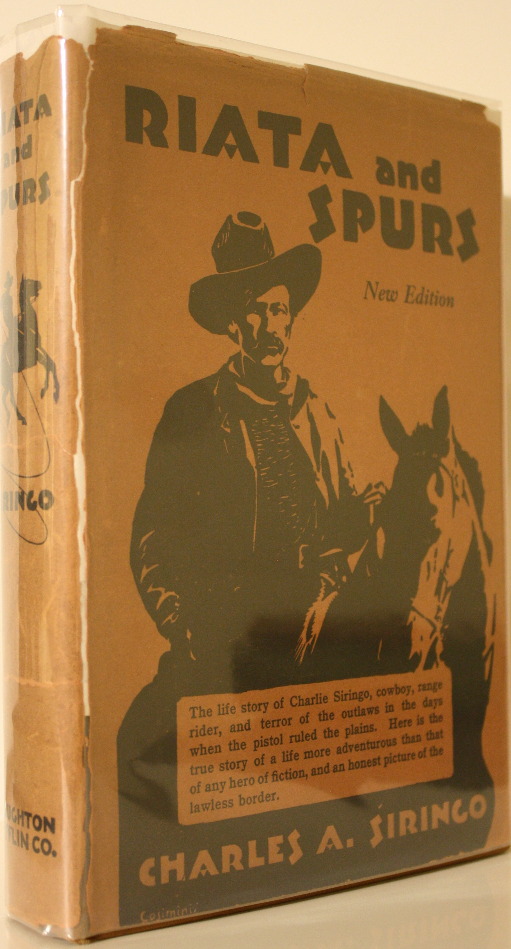 Image for Riata And Spurs  The Story Of A Lifetime Spent In The Saddle As Cowboy And Ranger Revised Edition