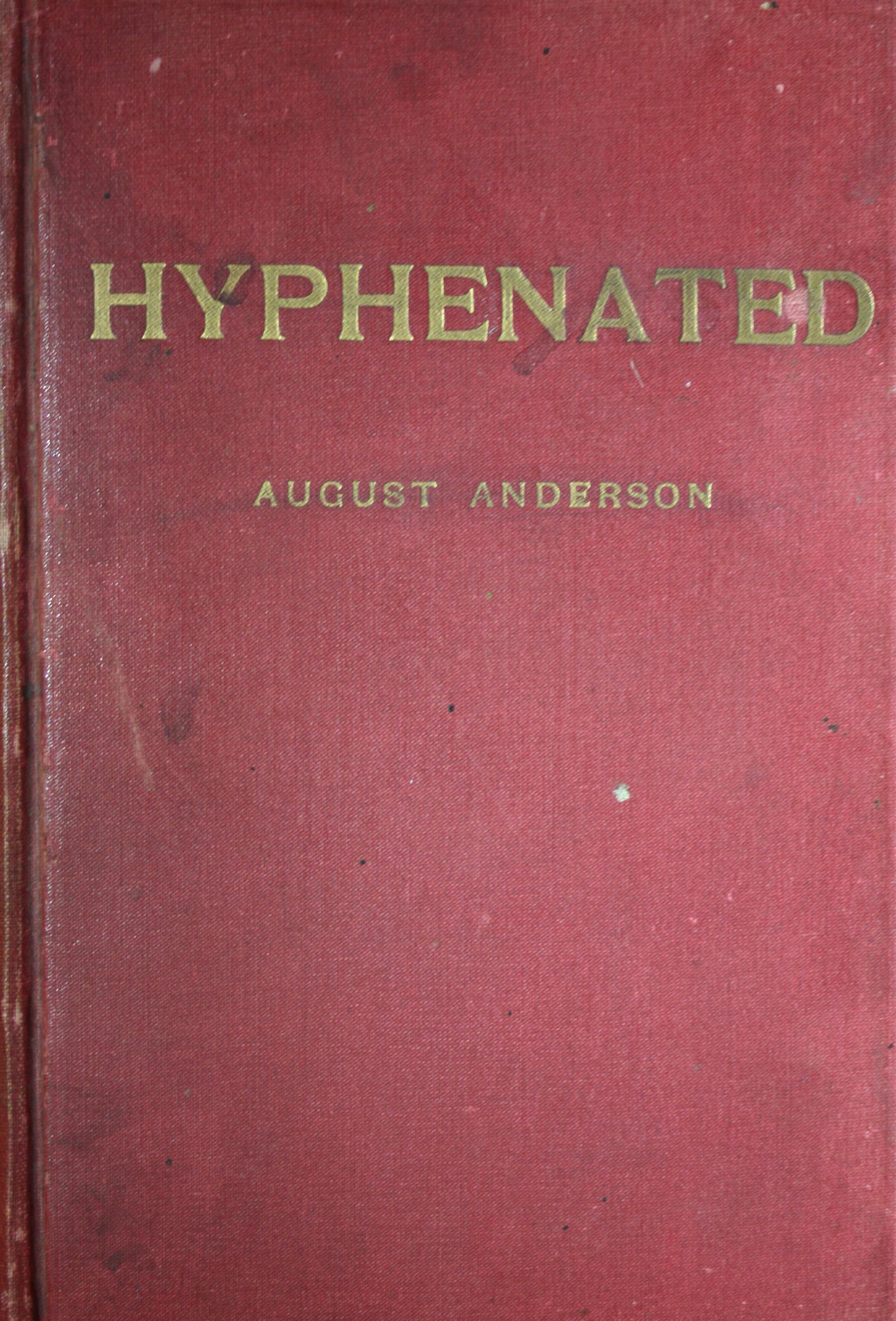 Image for Hyphenated, or the Life of S. M. Swensen