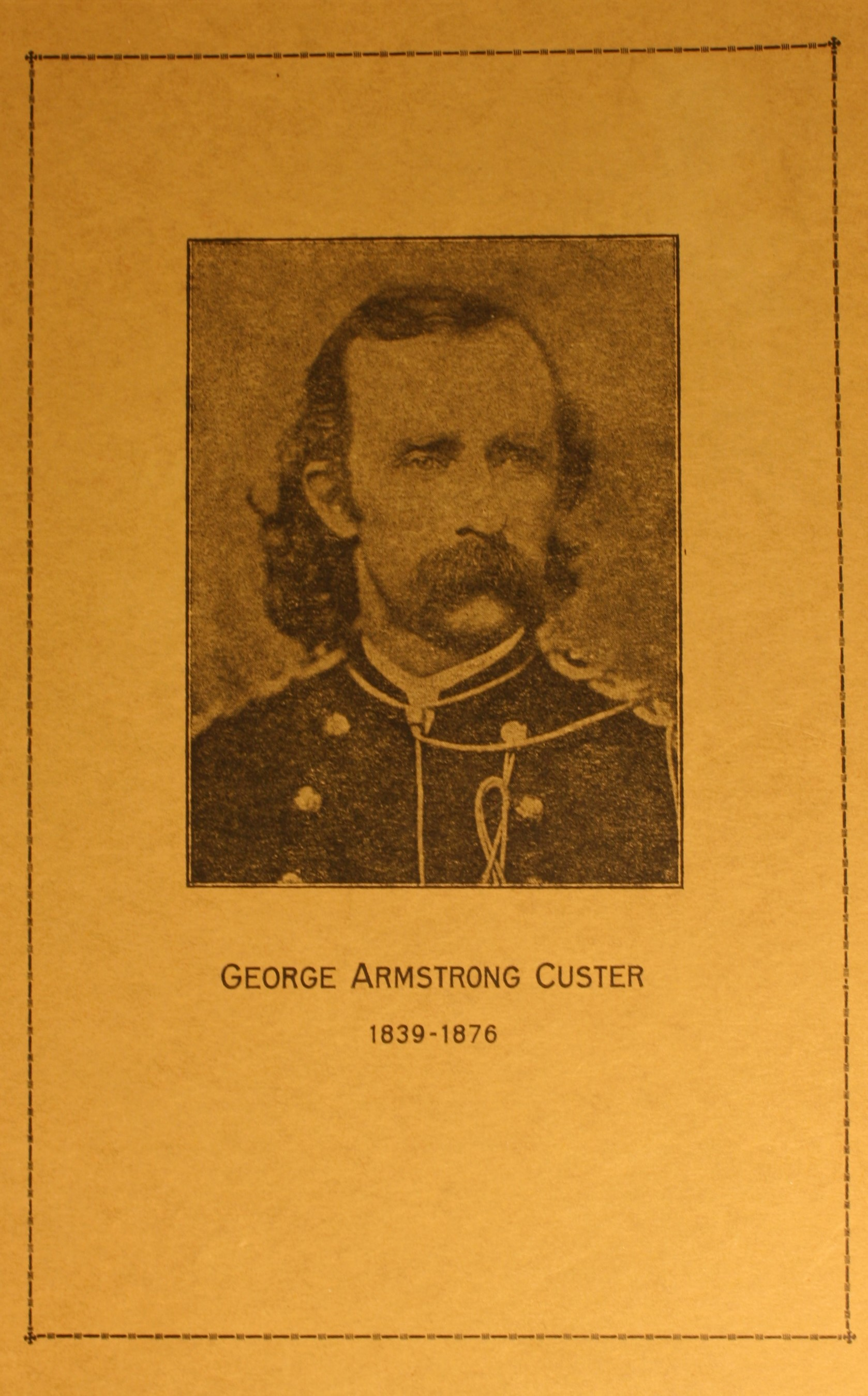 Image for The Life of General Custer, Reprinted From The Cadiz Republican